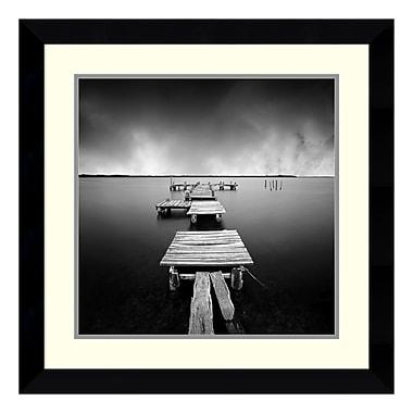 Amanti Art Framed Art Print 'Fragments' by Moises Levy, 26