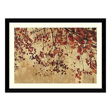Amanti Art – Reproduction encadrée de « Colourful Season » par Pela et Silverman, 43 x 32 po (DSW113640)
