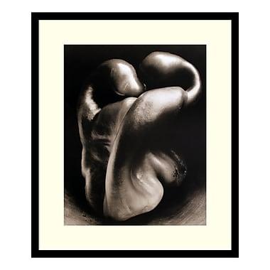 Amanti Art – Imprimé encadré « Pepper No. 30 » par Edward Weston, 23 x 28 po (DSW01468)