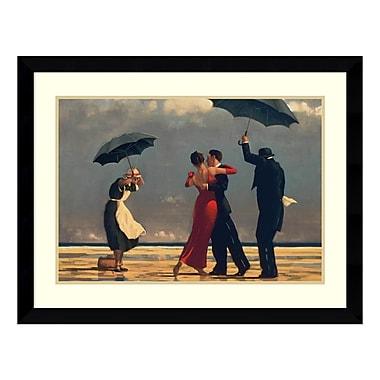 Amanti Art – Imprimé encadré « The Singing Butler » par Jack Vettriano, 38 x 28 po (DSW74995)