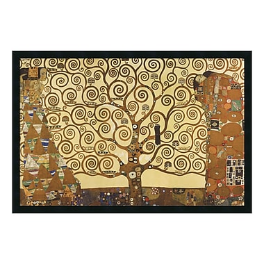 Amanti Art – Reproduction encadrée de « The Tree of Life, 1905-1911 » par Gustav Klimt, 38 x 26 po (DSW01610)