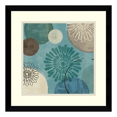 Amanti Art Framed Art Print 'Flora Mood II' by Veronique Charron, 17