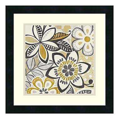Amanti Art – Reproduction encadrée de « Free Wheelin I » par Wild Apple Portfolio, 18 x 18 po (DSW347616)