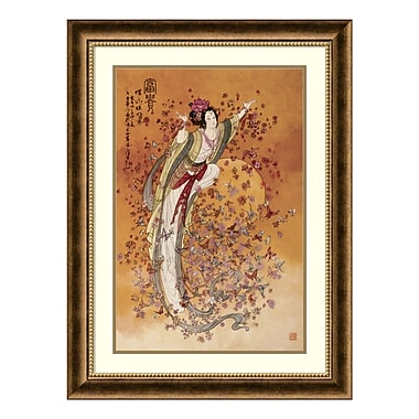 Amanti Art – Reproduction encadrée de « Goddess of Wealth » par Chinese, 24 x 32 po (DSW177454)