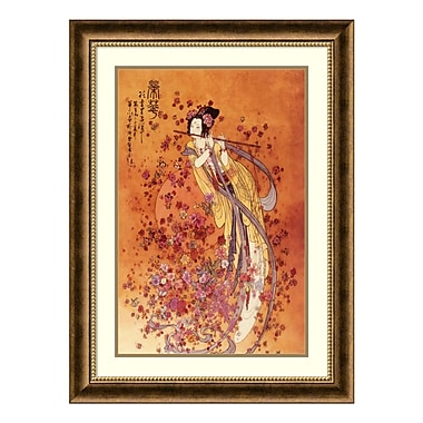 Amanti Art Framed Art Print 'Goddess of Prosperity' by Chinese, 24