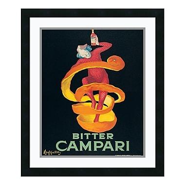 Amanti Art – Imprimé encadré « Bitter Campari » par Leonetto Cappiello, 22 x 26 po (DSW177382)