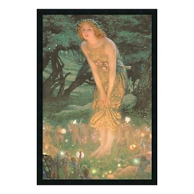 Amanti Art – Imprimé encadré « Midsummer Eve » par Edward Robert Hughes, 26 x 38 po (DSW169849)