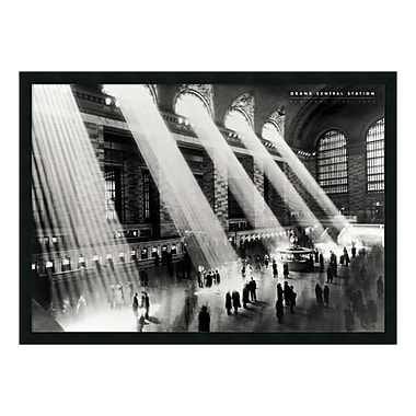Amanti Art Framed Art Print Grand Central Station, New York, 1934 by Hulton, 38