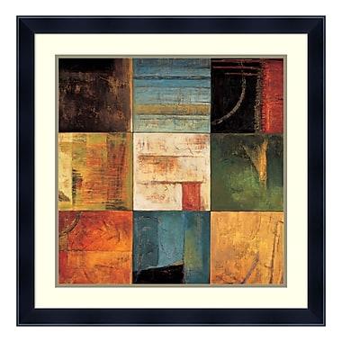 Amanti Art Framed Art Print 'Diversified II' by Kurt Morrison, 27