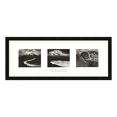 Amanti Art Framed Art Print 'Our National Parks (Triptych)' by Ansel Adams, 41