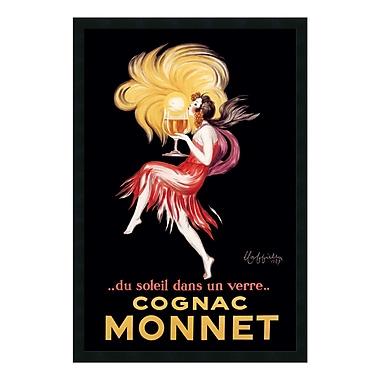 Amanti Art – Imprimé encadré « Cognac Monnet (ca. 1927) » par Leonetto Cappiello, 26 x 38 po (DSW01365)