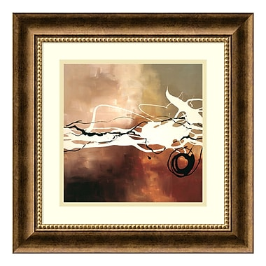 Amanti Art Framed Art Print 'Copper Melody II' by Laurie Maitland, 19