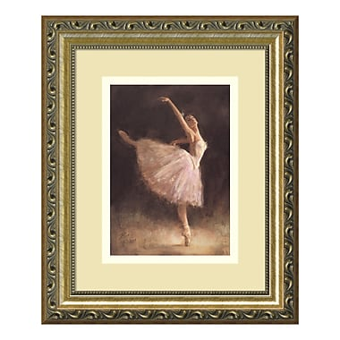 Amanti Art– Imprimé encadré « The Passion of Dance » par Richard Judson Zolan, 10 x 12 po (DSW01161)