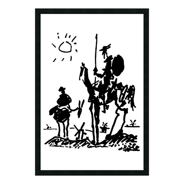 Amanti Art Framed Art Print Don Quixote by Pablo Picasso, 26