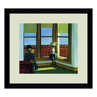 Amanti Art Framed Art Print 'Room in Brooklyn' by Edward Hopper, 16