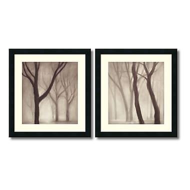 Amanti Art – Imprimé encadré « Forest » par Gretchen Hess, 20 x 22 po, 2/paquet (DSW420440)