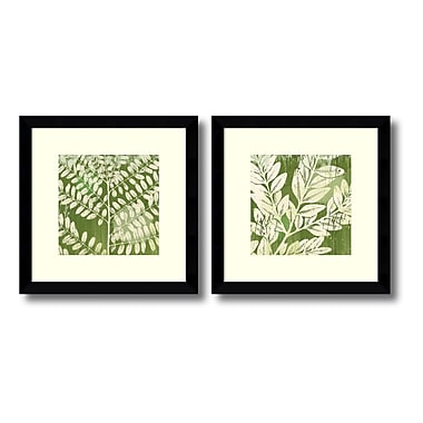 Amanti Art Framed Art Print 'Leaves' by Erin Clark, 13