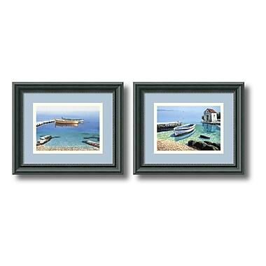 Amanti Art – Imprimé encadré « Peaceful Morning » par Frane Mlinar, 12 x 10 po, 2/paquet (DSW406522)