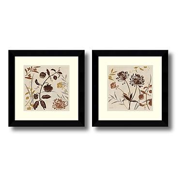 Amanti Art – Imprimé encadré « Natural Field » par Kisa Audit, 21 x 21 po, 2/paquet (DSW416289)
