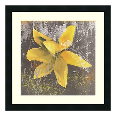 Amanti Art – Imprimé encadré « Tulip Fresco (jaune) » par Erin Clark, 22 x 22 po (DSW578869)