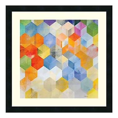 Amanti Art Framed Art Print 'Cubitz II' by Noah, 24