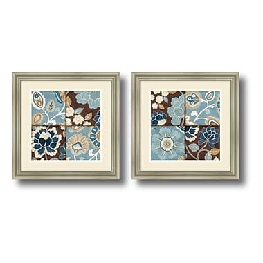 Amanti Art Framed Art Print 'Patchwork Motif' by Alain Pelletier, 18