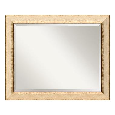 Amanti Art – Grand miroir mural, Crème Highland Park, 33 x 27 po (DSW577334)