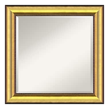 Amanti Art Wall Mirror Square, Vegas Burnished Gold
