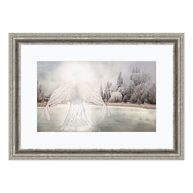 Amanti Art Framed Art Print 'I Am Peaceful (Angel)' by David M (Maclean), 29