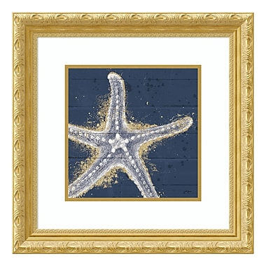 Amanti Art Framed Art Print 'Calm Seas XI no Words (Sea Star)' by Janelle Penner, 22