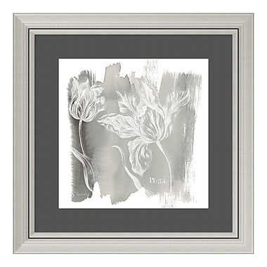 Amanti Art Framed Art Print 'Water Wash I Neutral (Floral)' by Sue Schlabach, 24