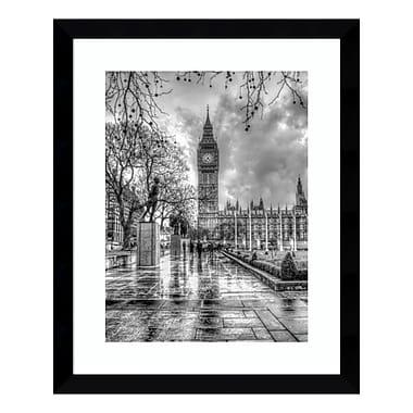 Amanti Art Framed Art Print 'Rainy Day (London)' by Joe Reynolds, 27