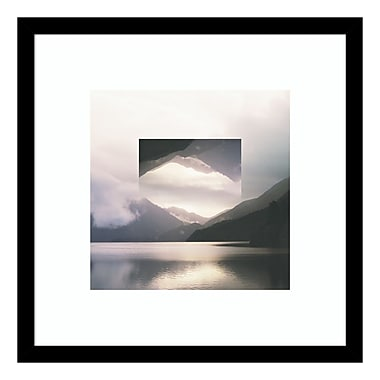 Amanti Art Framed Art Print 'Reflected Landscape II' by Laura Marshall, 17