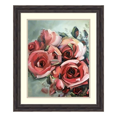 Amanti Art – Impression encadrée « Amid Scent of Roses », par Holly Van Hart, 23 haut. x 27 long. (po) (DSW3902396)