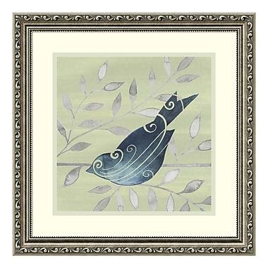 Amanti Art Framed Art Print 'Serene Silhouette II (Bird)' by Grace Popp, 19