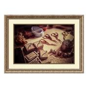 """Amanti Art Framed Art Print 'Old World Sewing' by Matt Marten, 27"""" x 20"""" (DSW3910642)"""