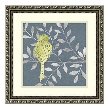 Amanti Art Framed Art Print 'Serene Silhouette III (Bird)' by Grace Popp, 19