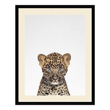 Amanti Art – Imprimé encadré « Leopard » par Tai Prints, 23 x 29 po (DSW3926507)