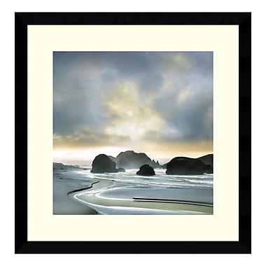 Amanti Art – Imprimé encadré, « Morning Breakin » par William Vanscoy, 17 x 17 po (DSW3908994)