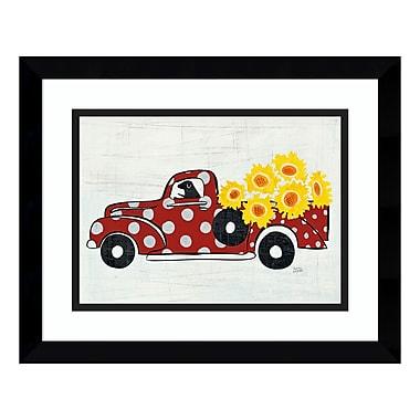 Amanti Art Framed Art Print 'Modern Americana Farm VI (Truck)' by Melissa Averinos, 15