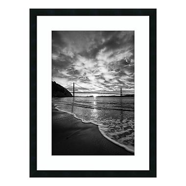 Amanti Art Framed Art Print 'Beacon (Seashore)' by Dave Gordon, 24