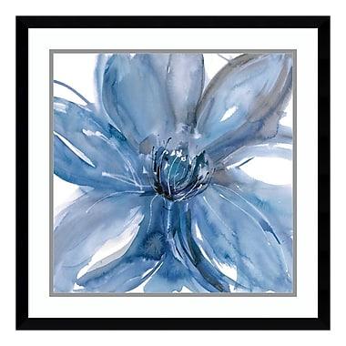 Amanti Art Framed Art Print 'Blue Beauty II (Floral)' by Rebecca Meyers, 23