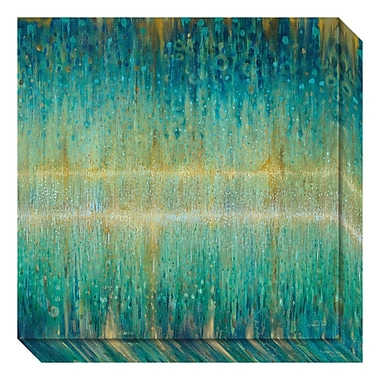 Amanti Art Canvas Art Gallery Wrap 'Rain Abstract I' by Danhui Nai, 20
