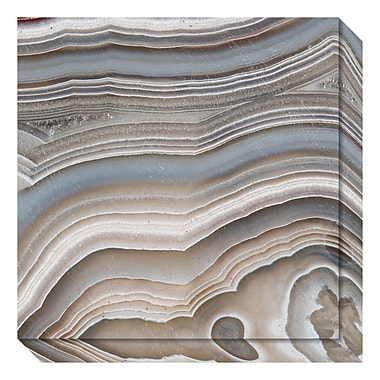 Amanti Art – Toile galerie « Stone Mountain I (Agate) » par David Lawrence, 20 x 20 po (DSW3637090)