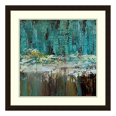 Amanti Art Framed Art Print 'Deep Waters I' by Jack Roth, 27