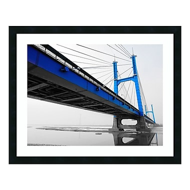 Amanti Art Framed Art Print 'In259_1 (Bridge)' by PhotoINC Studio, 30