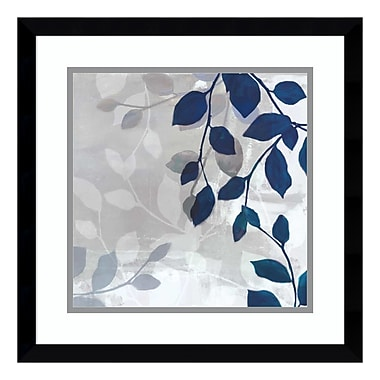Amanti Art Framed Art Print 'Leaves in the Mist I' by Tandi Venter, 17