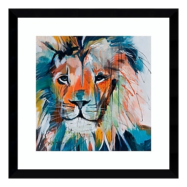 Amanti Art Framed Art Print 'Do You Want My Lions Share' by Angela Maritz, 17