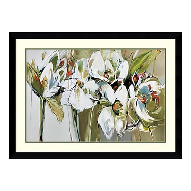 Amanti Art Framed Art Print 'Spring Blooms (Floral)' by Angela Maritz, 45