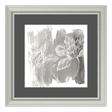 Amanti Art Framed Art Print 'Water Wash II Neutral (Floral)' by Sue Schlabach, 24